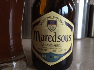 Maredsous - Nice Label looks promising