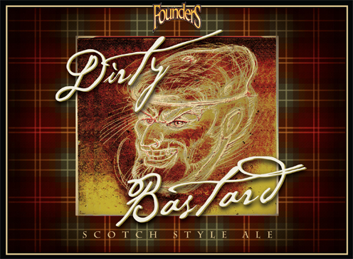 Founders Brewing Company Dirty Bastard Scotch Style Ale
