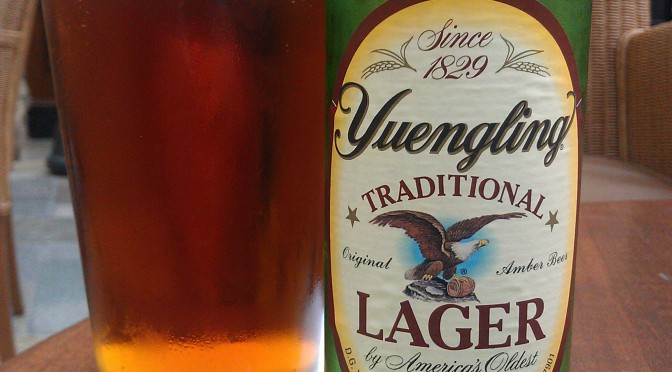 Yuengling Traditional Lager Beer Review - SommBeer