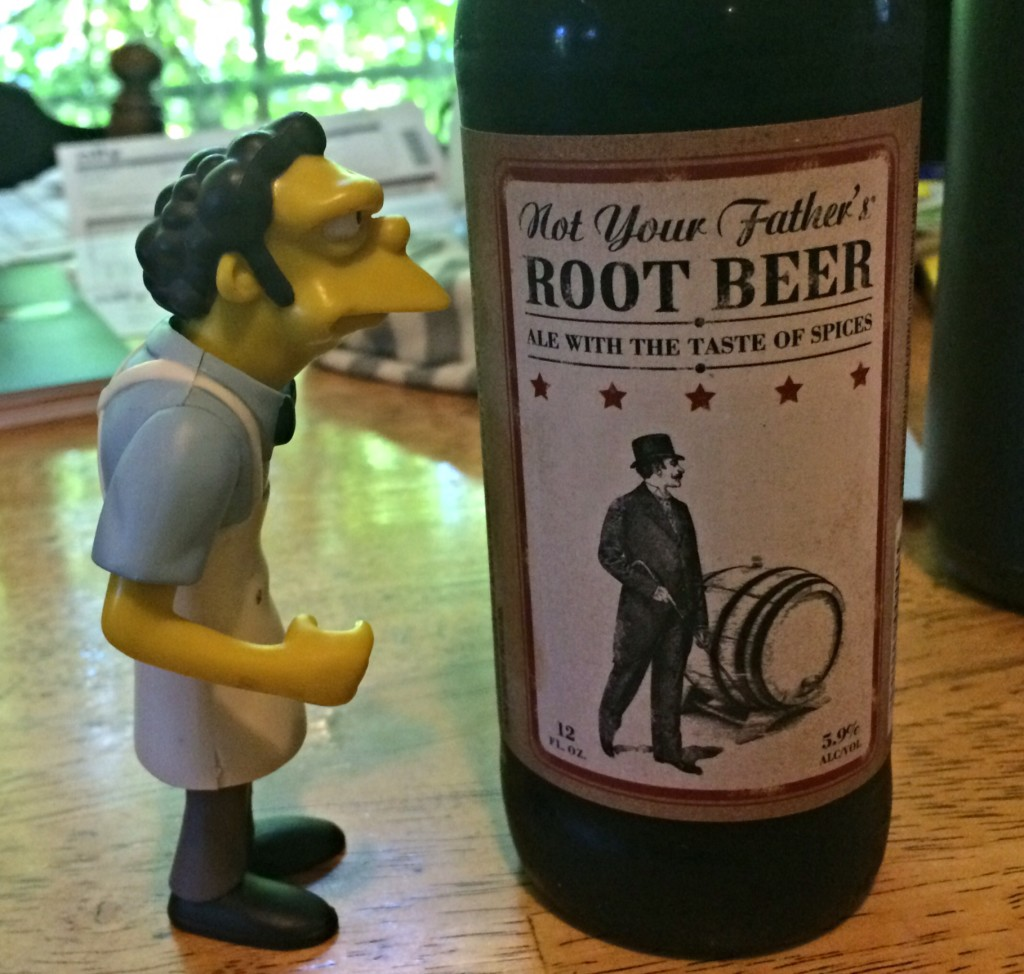 Not your father s root beer review sommbeer