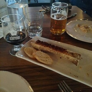 Bone marrow at a brewery is a real thing, and it's a wonderful one at that. A lot of craft breweries are pushing the limit with not only beer, but also their entire food menus.