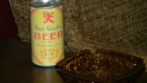 Archie Bunker's beer - via CBS & the Smithsonian.