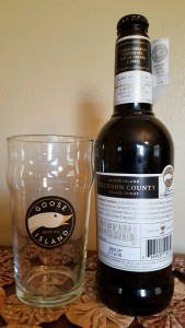 My first bottle of Bourbon County Stout. It's one amazing beer that I highly recommend, but you can't always get it. There are a lot of good alternatives out there, and a lot may be closer to home than you think