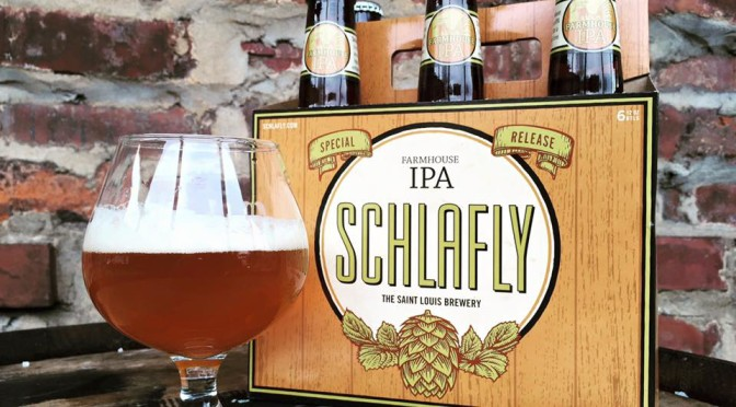 Schlafly Media Picture - Farmhouse IPA.