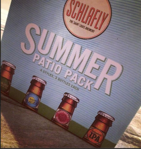 Schlafly Summer Patio Pack - Photo courtesy of Wagstaff Worldwide & Schlafly Beer