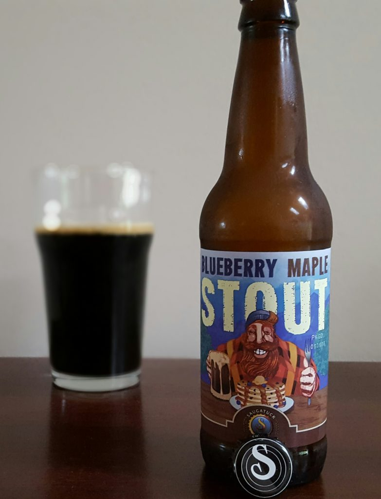Saugatuck Brewing Blueberry Stout
