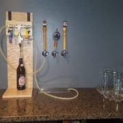 How To Build A Beer Tap Display Diy Home Bar Sommbeer